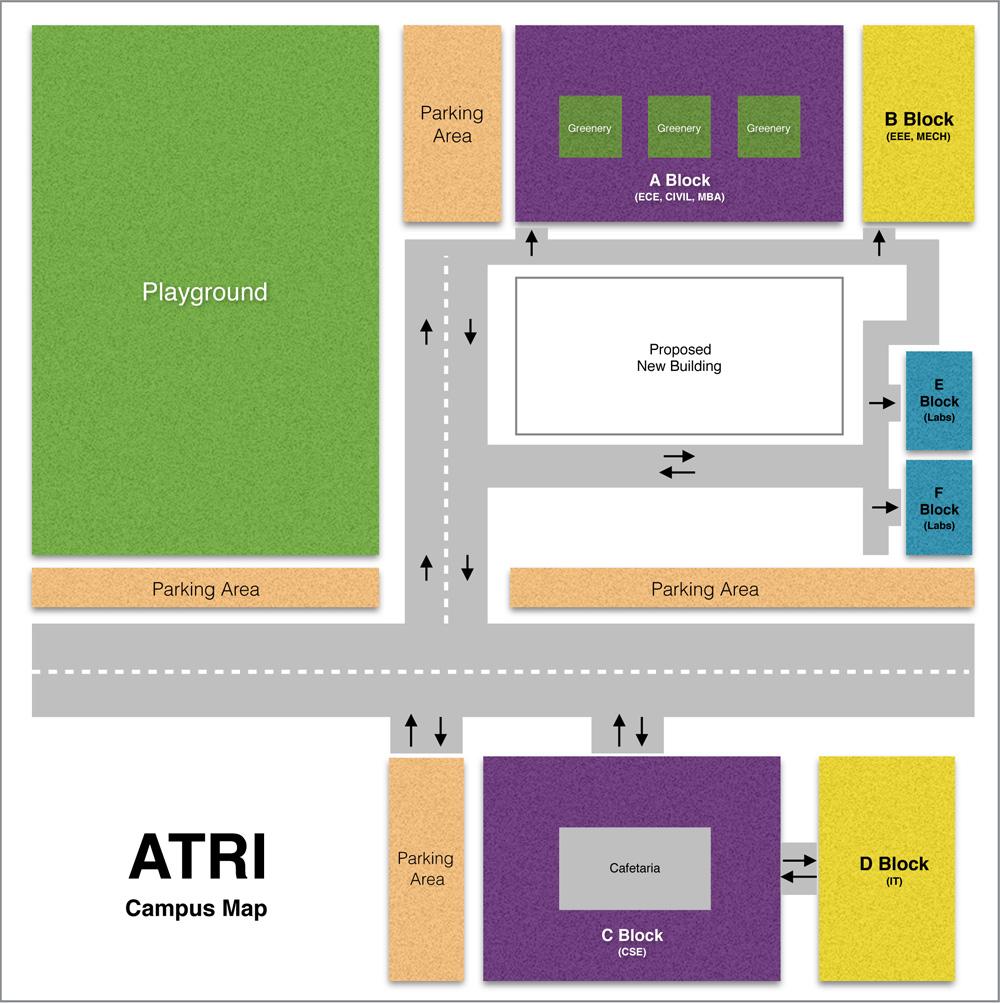 Rti Campus Map.Aurora S Technological Research Institute